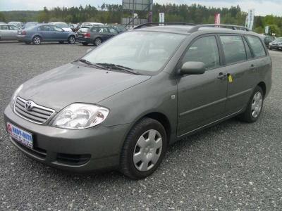 Toyota Corolla, wagon diesel