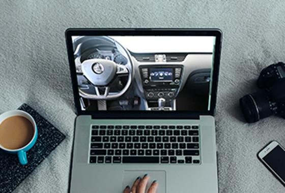 Živá online prohlídka vozu na dálku